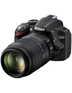 Nikon D3200 24.2 Megapixel Digital SLR Camera - Whee-I-wish-to-capture-life-on-film-and-make-videos-and-stuff. Muahaha.
