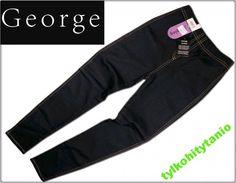 GEORGE rurki jegginsy jeginsy 116/122  NOWE