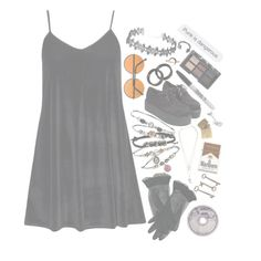 """""""Stuck In The Boom Boom Room"""" by princess-bands ❤ liked on Polyvore featuring Lulu Frost, Hot Topic, Boohoo, Jayson Home, In God We Trust, Sharpie, NARS Cosmetics and Ødd."""