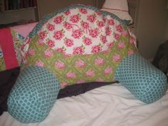 Quiet Time Reading Pillow Sewing Pattern