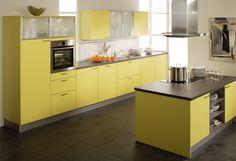 Gelbe Küchen on Pinterest