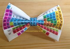 This beautiful bow is made out of high quality cotton fabric. Hair bow size SMALL 11 cm wide ←→ and 7 cm high ↑ Hair bow is attached to an Geeky Chic, Clever Tattoos, High Hair, Tattoo Now, Science Gifts, Cap And Gown, Boys Bow Ties, Bow Tie Wedding, Tie And Pocket Square