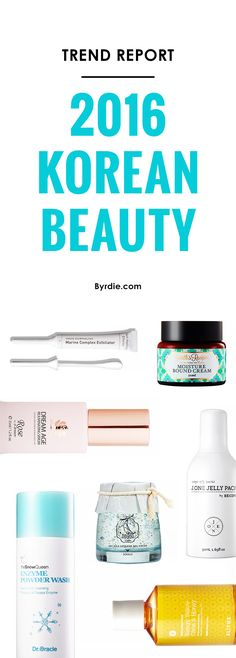 The most popular Korean beauty products