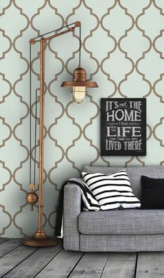 Moroccan Pattern Self Adhesive Vinyl Wallpaper D237 by Livettes