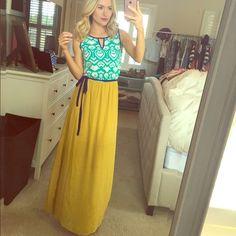 IKat maxi print dress Adorable ikat cotton maxi dress. Perfect to dress up or down this summer. THML Dresses Maxi