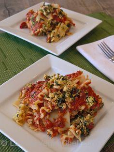 Easy Mini #Vegan Lasagna Casserole   #PlantBased #ForksOverKnives