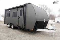 ATC RV - Toy Hauler with Living Quarters www.aluminumtrailer.com width: 8.5' length: 19' height: 7' axles: (2) 3500# Torsion VIN: 197010