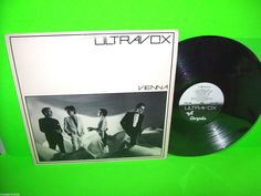ULTRAVOX VIENNA VINTAGE VINYL LP RECORD ELECTRONIC SYNTH-POP NM Chrysalis 1980 #SynthPop #Ultravox
