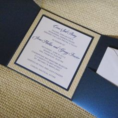 Invitations-add a leaf as a clasp instead of background and do Ivory/buff lace persimmon border with charcoal sleeves