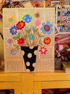 Mixed Media idea http://media-cache2.pinterest.com/upload/32088216064505859_KyUq5Rbe_f.jpg lbo1984 arts and crafts