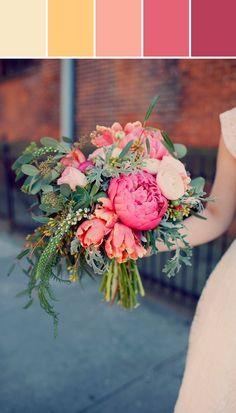 10 Palettes | Spring 2014 Wedding Colors #weddingcolor #color #stylyze