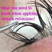 You've heard Lash Extensions can damage your natural lashes... Here is what you NEED to know if you are applying Lashes!