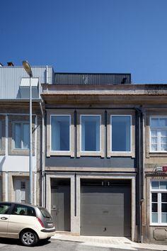 H arquitectes house 78 terrassa 1 1 3 facades - Arquitectos terrassa ...