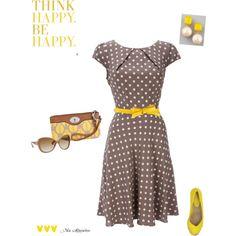 Taupe & Marigold, created by maria-asuncion