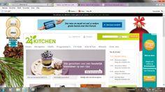 Sterkte: o webdesign, lay-out en kleur passen bij het merk en onderwerp o recepten uitgelicht   Zwakte: o reclame van andere sites die niet passen bij het merk