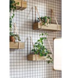 DIY Inspiration - Wood crates on the Wall with straps for herbs in the Kitchen diy garden design Główna Osobowa Bar and Restaurant in Gdyna, Poland by PB/STUDIO and Filip Kozarsk Diy Inspiration, Interior Inspiration, Kitchen Inspiration, Interior Ideas, Restaurant Design, Restaurant Bar, Restaurant Interiors, Vintage Restaurant, Industrial Restaurant