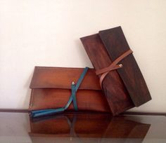 My next purchase!! Love this. Leather clutch two different straps handmade purse by Jaewan, $110.00