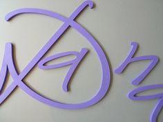 Holzbuchstaben von PAULSBECK Buchstaben, Dekoration & Geschenke auf DaWanda.com