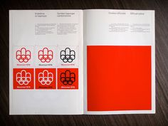 1976 Montréal Olympics Basic Logo Standards | Flickr - Photo Sharing!