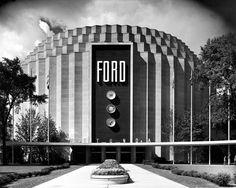 Ford Rotunda Building. Dearborn, Michigan. 1956.