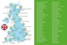 Hundestrände Großbritannien Strand, Map, Beach, Doggies, Location Map, Seaside, Maps