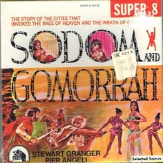 And Gomorrah-Super 5 inch Reel Film- New Sealed- Stewart Granger, Pier Angeli, Stanley Baker Stanley Baker, Robert Aldrich, Stewart Granger, Sodom And Gomorrah, Super 8 Film, Vintage Films, Film Stock, 8mm Film, Best Movie Posters