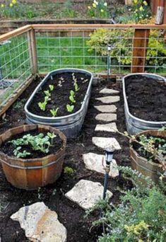 Beautiful diy raised garden beds ideas 19