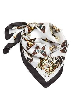 f40c87e6164 Echo  Butterfly Collection  Square Silk Scarf available at  Nordstrom Echo  Scarves