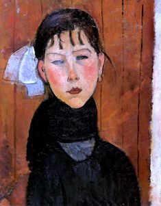 Browse through images in Bridgeman Images' Modigliani collection. A selection of works by Amedeo Modigliani available for fine art prints. Amedeo Modigliani, Modigliani Paintings, Georges Braque, Georges Seurat, Henri Rousseau, Italian Painters, Italian Artist, Art Moderne, Pablo Picasso