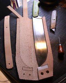 Explore photos on Photobucket. Explore photos on Photobucket. Leather Art, Sewing Leather, Custom Leather, Leather Tooling, Kydex, Leather Knife Sheath Pattern, Diy Leather Sheath, Crea Cuir, Axe Sheath