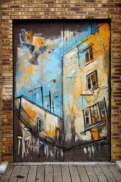 Alice - street art - Vitry-sur-seine - cité Robespierre