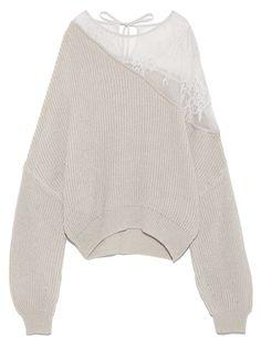 ショルダーレースプルオーバー(プルオーバー)|FRAY I.D(フレイアイディー)|ファッション通販|ウサギオンライン公式通販サイト