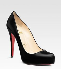 Someday I will invest in a classic black Louboutin pump!