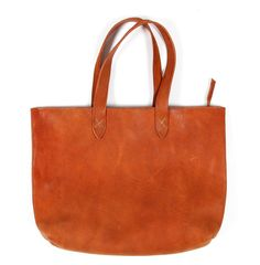 Simple Leather Bag - Sewing Inspiration