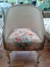 Lloyd Loom Chair Retro vintage shabby chic pretty