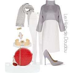 Hijab Outfit 3 Hijab Chic, Hijab Outfit, Dou Dou, Street Hijab Fashion, Muslim Women, Fashion 2020, Fashion Sets, Classy Outfits, My Style