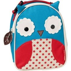 Insulated Owl lunch bag! (OvO)