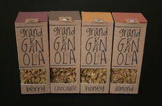 Grand Granola Packaging by Kinsey Davis