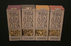 Grand Granola Packaging by Kinsey Davis