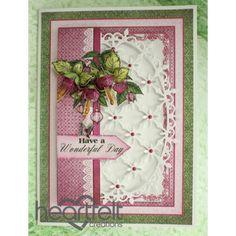 Gallery | Decorative Oval Fuchsia - Heartfelt Creations