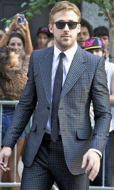 Shop ryangosling, suit, tie on SeenIt - 44524