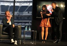 Richard Madden, Jenna-Louise Coleman and Matt Smith