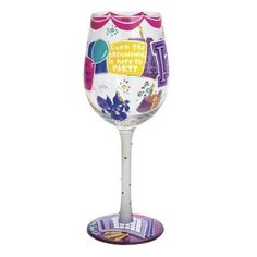 Lolita Months of the Year Wine Glasses - Time Your Gift - 8