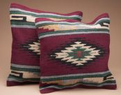 Southwestern Pair of Pillow Covers - 18x18