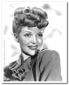 Outstanding 1940S Hairstyles Hairstyles And 1940S On Pinterest Hairstyles For Women Draintrainus