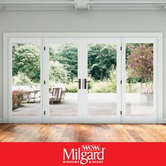Can You Replace a Sliding Glass Door with French Doors? In this article, we talk about the possibility of replacing sliding glass doors with French patio doors and what to consider when choosing replacement patio doors. French doors are available in both sliding door and swinging door operating styles, so, you can achieve the look, no matter which operating style you choose. #patiodoorideas #frenchpatiodoors #patiodoormakeover #replacementpatiodoors #newpatiodoorideas