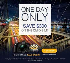 Olympus OM-D E-M1 deal