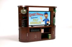 "Coventry 48"" Entertainment Center, Bob's Discount Furniture"