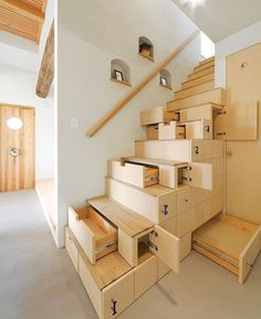 Here Are 16 Staircase Designs For Small Homes, luxury staircase design house stairs design pictures interior also luxury staircase design interior images interior stairs. Stair Drawers, Stair Storage, Hidden Storage, Hidden Shelf, Storage Drawers, Bedroom Storage, Stair Shelves, Coat Storage, Diy Drawers