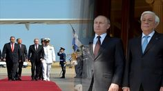 Putin Arrives on a Visit to Greece and met with the President Pavlopoulos